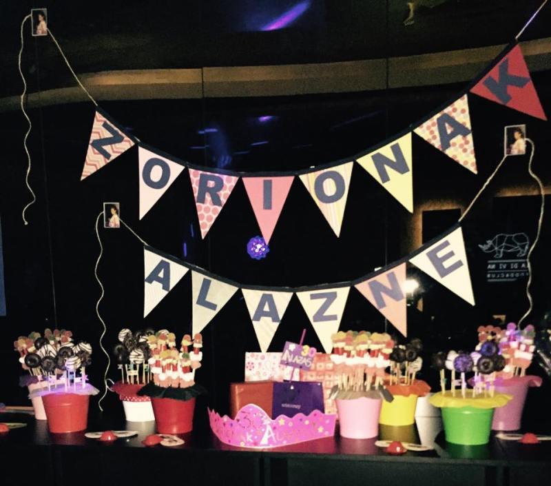 Candy Bar: Cumpleaños Alazne