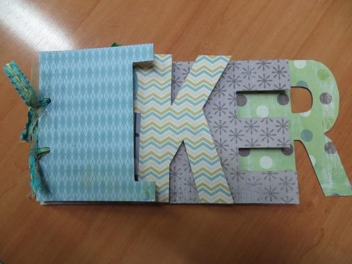 Álbum personalizado para Iker