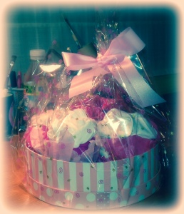 Baby Shower: Muffins de leotardos y Bodys (1)