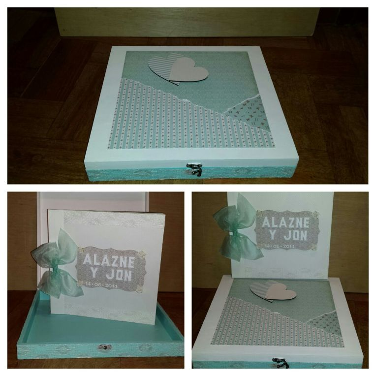 Álbum de firmas con caja o sin caja