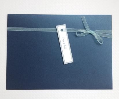 Invitación rectangular